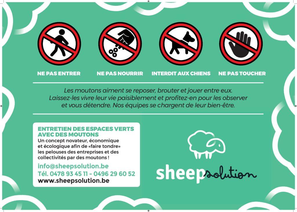 Panneau Sheep Solution